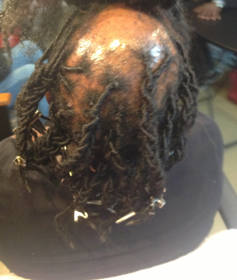 dreadlock extensions before and after