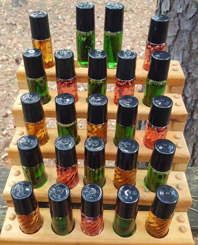 Goddess Attraction Oils