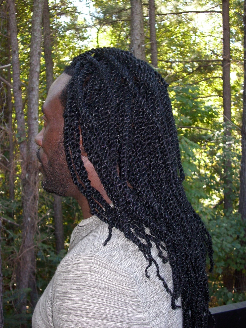Long Two Strand Twist